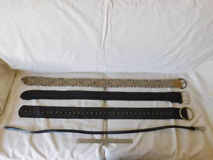 Belts - 4 x Ladies