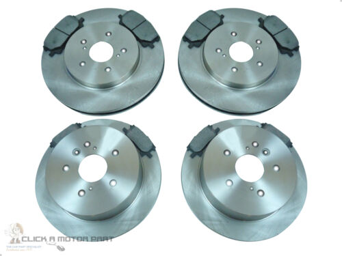 LEXUS RX300 RX350 RX 350 300 3.0 3.5 FRONT & REAR BRAKE DISCS AND PADS SET NEW