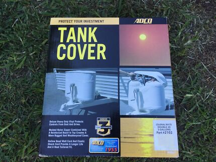 Gas bottle tank cover