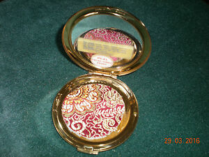 SLIM POWDER PUFFS (x2)  FOR VINTAGE STRATTON COMPACT with INNER LID