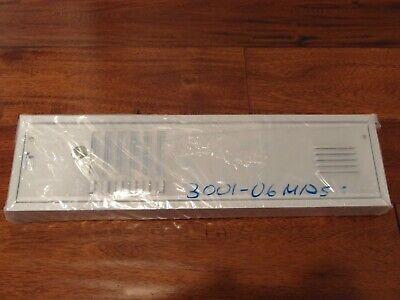 Jeron 3001-06 Mpfs Panel 6 Button-metal Postal Lock Flush Silver New
