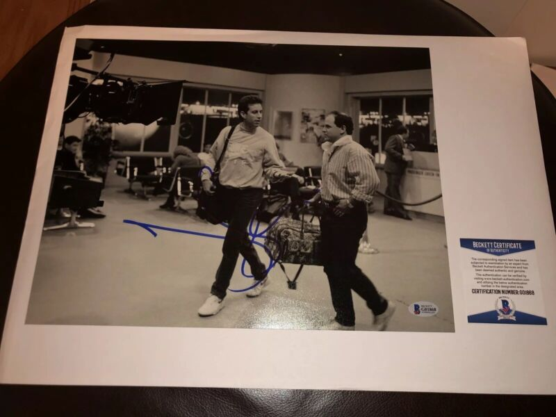 Jerry Seinfeld Signed Autographed 11x14 Photo Comedy Legend BECKETT COA