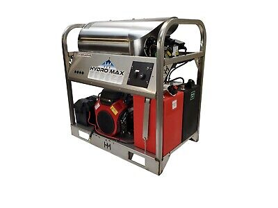 Hotcold Water Pressure Washer-8gpm4000psi-new-ss Framepanels