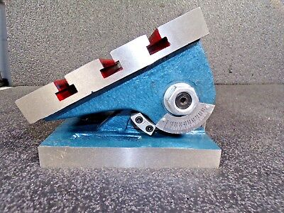 10 X 7-34 X 6 Adjustable Angle Milling Plate K