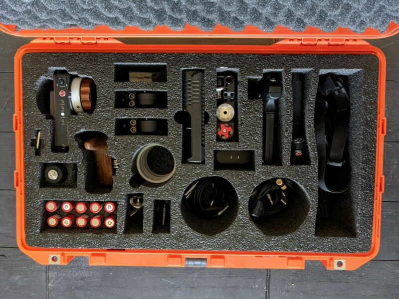 Tilta Nucleus-M Wireless Lens Control Full Kit with Accessories and Custom Case