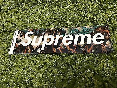 Supreme F/W 2016 Undercover Box Logo Sticker