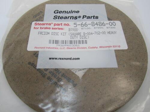 Stearns Brake 8-004-702-00 Friction Disc Kit Square 5-66-8486-00