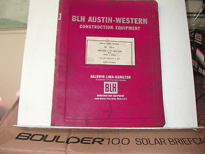 Austin Western 560-a Snow Wing V Plow For Pacer Super Power Graders Manual