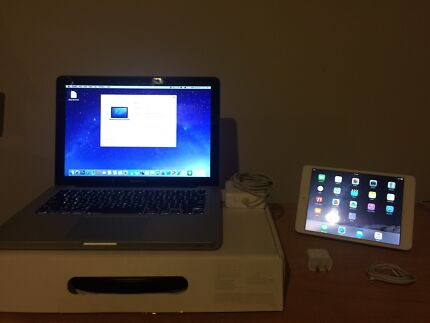 """Apple MacBook Pro 13"""" - Intel i5/8gb/320GB + iPad Mini 2 32GB Brisbane City Brisbane North West Preview"""