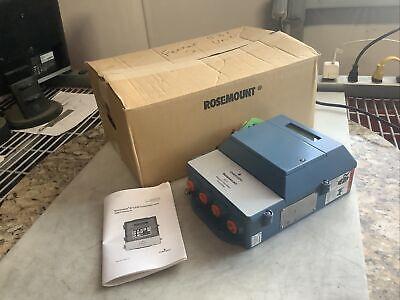 Rosemount Emerson 8712 8712emr1a1n5m4b6 Magnetic Flow Meter Transmitter