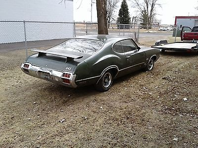 1972 Oldsmobile 442  Olds Oldsmobile 442 Cutlass