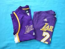 Boys Adidas Lakers Basketball Tops Size M (12) Port Sorell Latrobe Area Preview