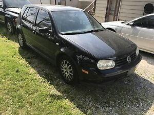 2007 Volkswagen Golf City 5 speed manual