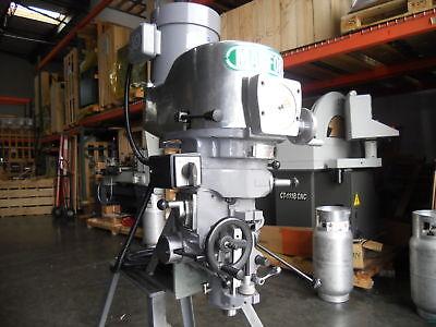Bridgeport Style Milling Machine Head Vs R8 3hp 230v460v
