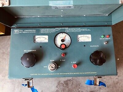 Tfi Corp. Hotshot Quality Industrial X-ray Unit With 603 Head 805d Control