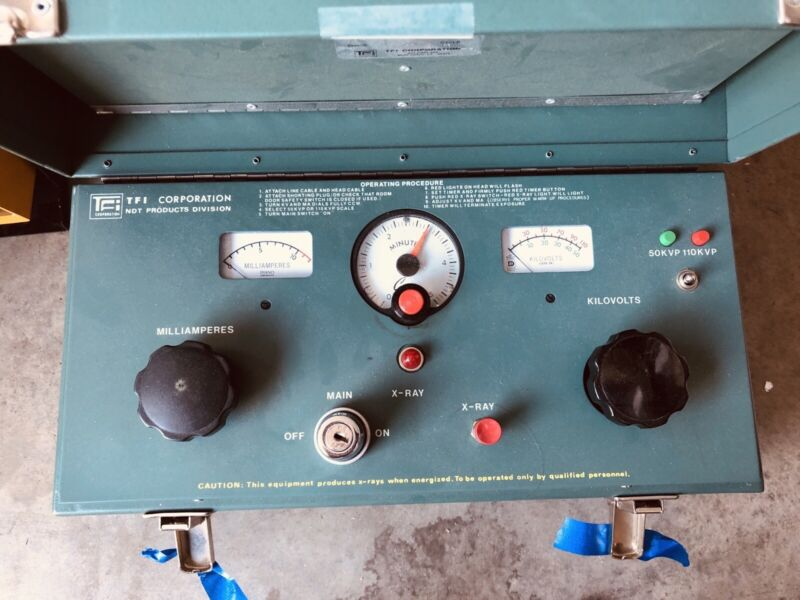 TFI Corp. Hotshot, Quality Industrial X-Ray Unit, With 603 Head & 805D Control