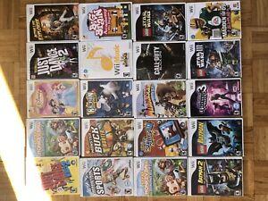 Jeux de Nintendo Wii
