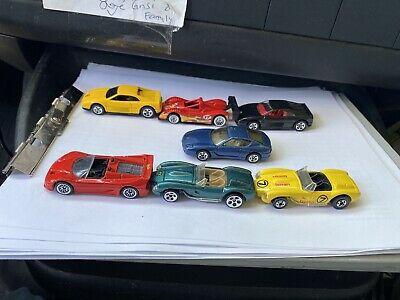 HOT WHEELS VHTF A LOT OF SEVEN FERRARI'S