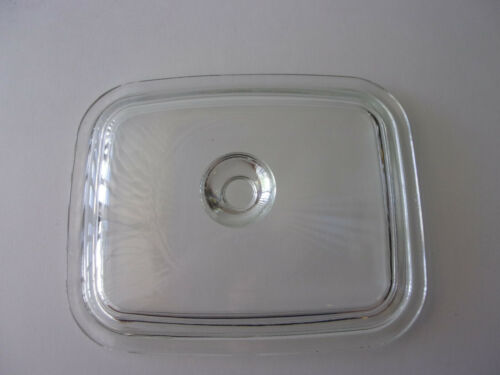 PYREX P4C LID FOR P4B LOAF PAN  IN EXCELLENT CONDITION