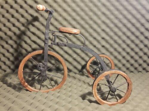 Antique Tricycle Wood & Metal wheels Vintage 1890's? (Used - 190 USD)