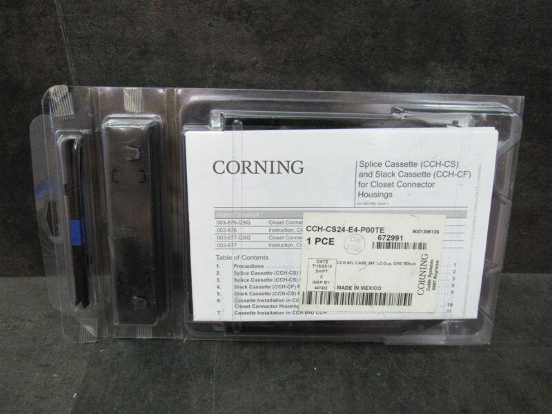 Corning CCH-CS Splice Cassette & Slack Cassette CCH-CF CCH-CS24-E4-POOTE