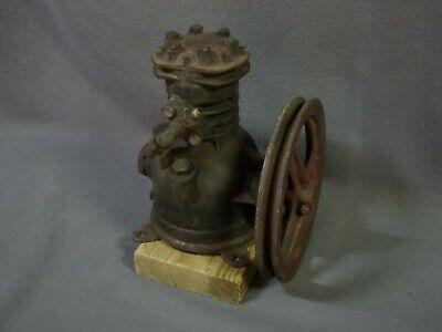 Vintage Refrigeration Compressor Tecumseh Products Tp 500a Air Pump Belt Drive