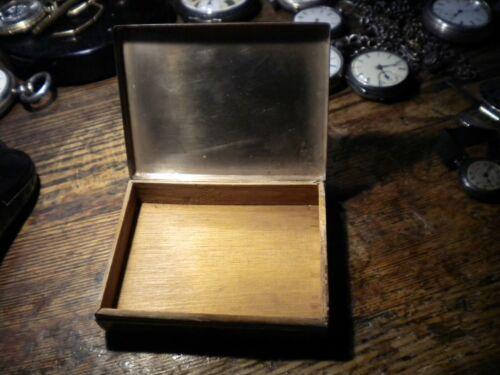 CIRCA-1930S-GERMAN-830-FINE SILVER CIGARETTE BOX