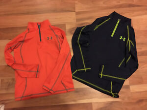Boys Under Armour Pull Overs