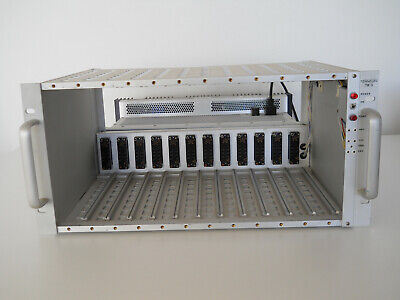 Tennelec Tb3 Nim Bin Crate 12-slot Chassis With Power Supply