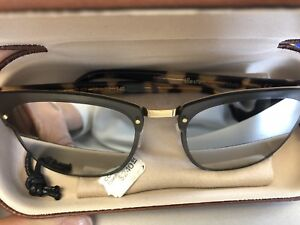 Illesteva turtle shell sunglasses