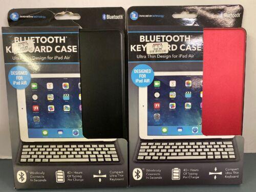 IT Ultra Thin Bluetooth Keyboard Case for iPad Air - Black