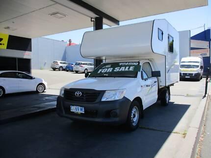 2012 Automatic Toyota Hilux Camper