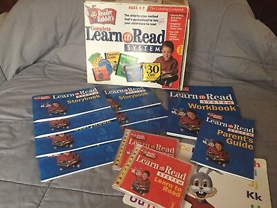 Learning Company READER RABBITS Complete Learn To Read System COMPLETE SET (Reader Rabbits Complete Learn To Read System)