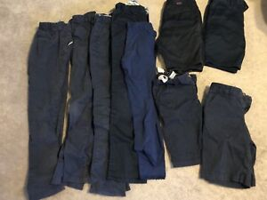 Girls school uniform pants & shorts Size 10