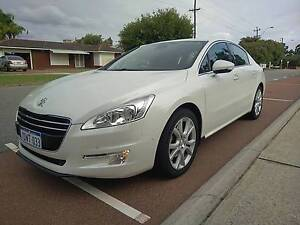 2012 Peugeot 508 Sedan, 2.0HDI Allure, Pearl White Dianella Stirling Area Preview