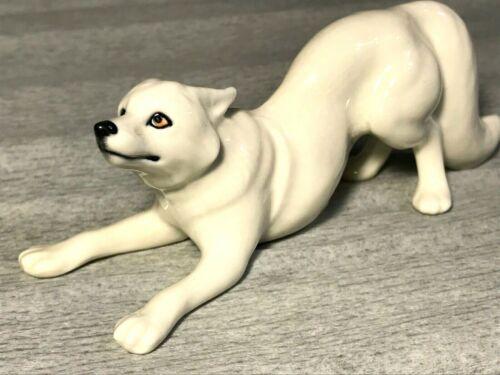 Polar white Fox figurine porcelain Gifts Souvenirs High quality