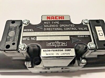 Nachi Ss-g01-c1-r-d1-e30 Solenoid Directional Hydraulic Control Valvedc 12v