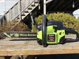 "Chainsaw 14"" Poulan Wood Shark"