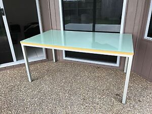 Glass top dining table Kawungan Fraser Coast Preview
