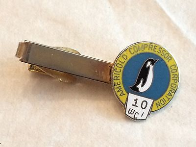 Americold Compressor Corporation 10 Wci Penguin Logo Tie Bar Clip