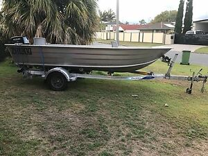 5m Tinny with 40HP Suzuki electric start motor bought new Dec16 Maroochydore Maroochydore Area Preview