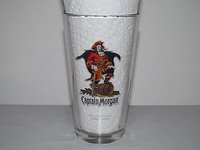 CAPTAIN MORGAN Drink Responsibly - Captain's Orders! Pint Beer Glass EUC