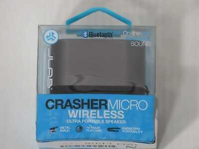 JLab Audio Crasher Micro Wireless Bluetooth Speaker   Blueto