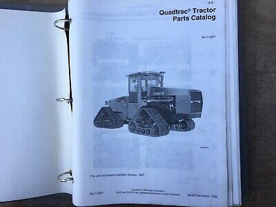 Case Ih Early Quadtrac Tractors Factory Parts Catalog Oem