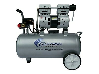California Air Tools 8010a Ultra Quiet Oil-free Lightweight Compressor - Used