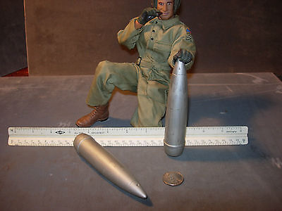 1/6 scale resin cast REPLICA-WW2 US 155mm artillery shells for Ultimate Soldier