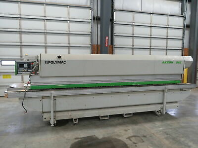 Biesse Polymac Akron 840 Automatic Single Sided Edgebander Edgebanding Machine