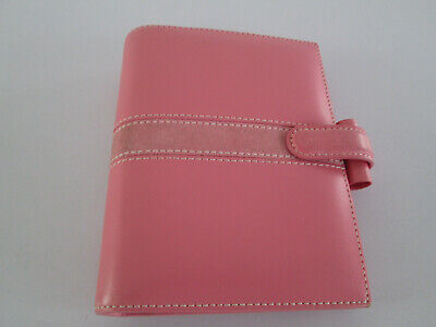 Filofax Organiser Pocket Size Piazza Deluxe Pink Smooth Leather