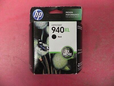 NEW HP Genuine Ink HP 940XL Black SEALED OEM Printer Ink Cartridge