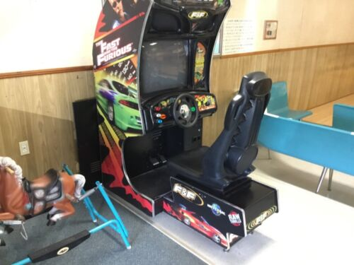Coin operated driving game